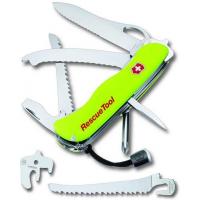Victorinox 0.8623.MNW швейцарский нож спасателя (RESCUE KNIFE) с чехлом 12 функц.