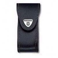 Victorinox 4.0521.31 Чехол для ножей 91 мм черная кожа с брючным зажимом