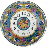 Рус-Арт Декоративные настенные керамические часы 30 см (Ч-3001)