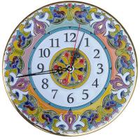 Рус-Арт Декоративные настенные керамические часы 30 см (Ч-3002)
