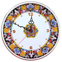 Рус-Арт Декоративные настенные керамические часы 30 см (Ч-3006)