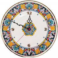 Рус-Арт Декоративные настенные керамические часы 30 см (Ч-3008)
