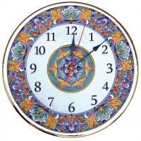 Рус-Арт Декоративные настенные керамические часы 40 см (Ч-4001)