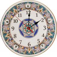 Рус-Арт Декоративные настенные керамические часы 40 см (Ч-4005)