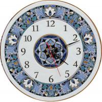 Рус-Арт Декоративные настенные керамические часы 40 см (Ч-4008)