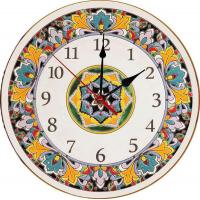 Рус-Арт Декоративные настенные керамические часы 40 см (Ч-4011)