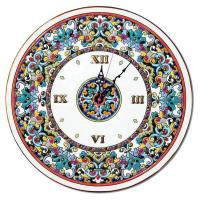 Рус-Арт Декоративные настенные керамические часы 40 см (Ч-4013)