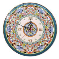 Рус-Арт Декоративные настенные керамические часы 40 см (Ч-4014)