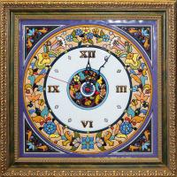 Рус-Арт Декоративные настенные часы квадратные 40*40 см (Ч-5001)