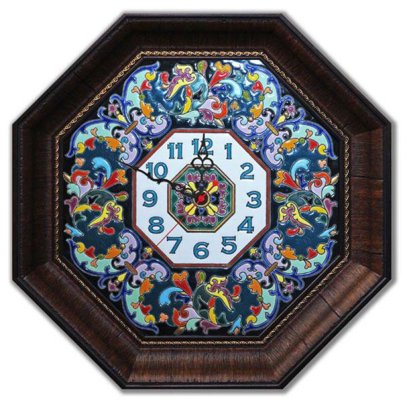 Рус-Арт Большие настенные часы восьмиугольные 45*45 см (Ч-6002)