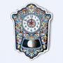 Рус-Арт Большие настенные часы с маятником 45*33 см (Ч-7001)