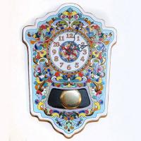 Рус-Арт Большие настенные часы с маятником 45*33 см (Ч-7002)