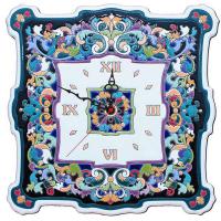 Рус-Арт Большие настенные часы квадратные 40*40 см (Ч-8001)