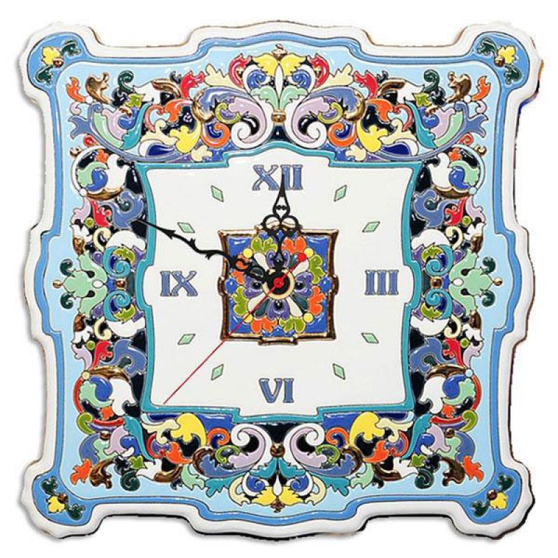 Рус-Арт Большие настенные часы квадратные 40*40 см (Ч-8002)