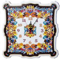 Рус-Арт Большие настенные часы квадратные 40*40 см (Ч-8003)