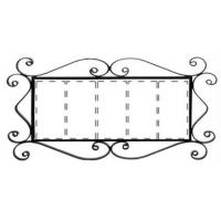 Рус-Арт Металлическая рамка для адреса на 5 элемента