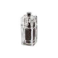 Bisetti мельница для перца 9 см прозрачная акрил (839)