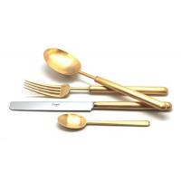 Cutipol Набор столовых приборов BALI GOLD матовый 24 пр. (9312)