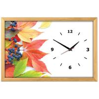 Династия Настенные часы из песка Осень (03-161)