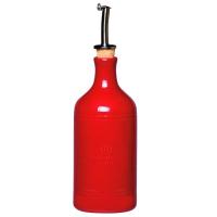 Emile Henry Бутылка для масла и уксуса 75 см 0,45л цвет: гранат (340215)