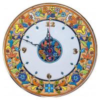 Рус-Арт Декоративные настенные керамические часы 30 см (Ч-3005)