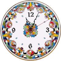 Рус-Арт Декоративные настенные керамические часы 30 см (Ч-3010)