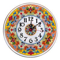 Рус-Арт Декоративные настенные керамические часы 30 см (Ч-3014)