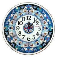Рус-Арт Декоративные настенные керамические часы 30 см (Ч-3015)