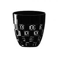 Ajka Crystal Хрустальная стопка для ликера ручной работы 0.07 л черный Domino (1/65687/51465/48525)