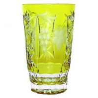 Ajka Crystal Хрустальный стакан для коктейля 0.39 л янтарный Grape (1/amber/64579/51380/48359)