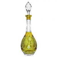 Ajka Crystal Хрустальный графин 0.75 л янтарный Grape (amber/64569/51380/48359)