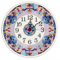 Рус-Арт Декоративные настенные керамические часы 30 см (Ч-3013)