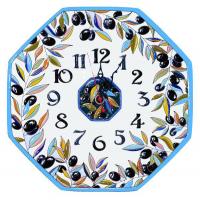 Рус-Арт Большие настенные часы восьмиугольные 37*37 см (Ч-6012)