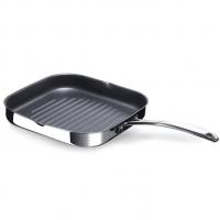BEKA Сковорода-гриль из нержавеющей стали с антипригарным покрытием 26.5х26.5 см Chef (12068284)