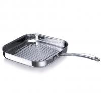 BEKA Сковорода-гриль из нержавеющей стали 26.5х26.5 см Chef (12068294)