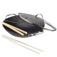 BEKA Сковорода-вок чугунная Lhasa 30 см Frying Time (14300734)