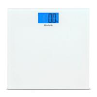 Brabantia Весы напольные 30 см стекло белый (483127)