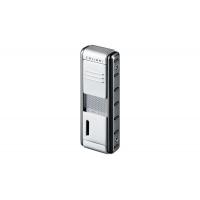 Colibri of London Зажигалка Futura Satin Silver / Gun metal Lacquer (CB QTR-426003E)