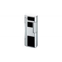 Colibri of London Зажигалка Primo Black Lacquer / Polished Silver (CB QTR-600001E)