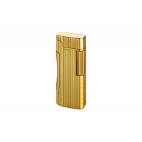 Colibri of London Зажигалка Primo Polished Gold Lined (CB QTR-600003E)