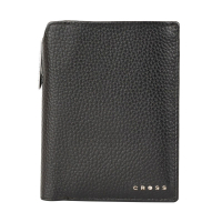 Cross Бумажник для документов Hudson Black, с ручкой Cross, черный (ACC1495_2-1)