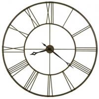 Династия Большие настенные кварцевые часы металлические патина Гигант (07-002)