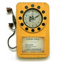 Galaxy Настенные часы Телефон желтые (DA-006 Yellow)