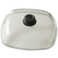 Gastrolux Крышка квадратная, 26 см, стекло, прозрачный, серия Accessories, (L328-0)