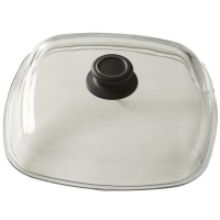 Gastrolux Крышка квадратная, 28 см, стекло, прозрачный, серия Accessories, (L528-0)