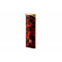 G5005 Givenchy зажигалка пьезо / red marble lacquer