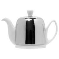 GUY DEGRENNE Чайник на 4 чашки фарфор White (211988)