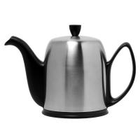 GUY DEGRENNE Чайник заварочный с ситечком на 8 чашек черный нерж. сталь, фарфор Mat Black (211994)