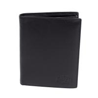 Klondike 1896 Бумажник Claim, натуральная кожа в черном цвете, 10,5 х 1,5 х 13 см (KD1100-01)