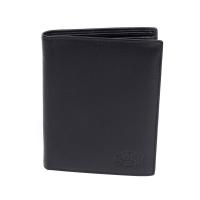 Klondike 1896 Бумажник Claim, натуральная кожа в черном цвете, 10 х 1,5 х 12 см (KD1102-01)
